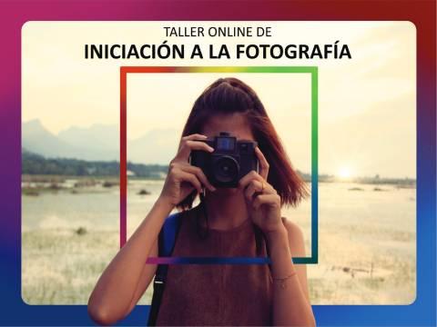 Taller Online de Iniciación a la Fotografía